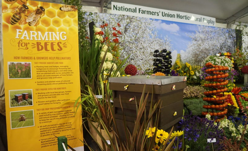 NFU and Home Grown show what growers do for pollinators.