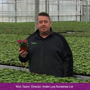 Nick Taylor at Arden Lea Nurseries